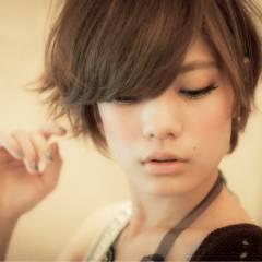 ガーリー ショート 大人かわいい 愛され ヘアスタイルや髪型の写真・画像