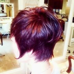 ショート ウルフカット ショートヘア ベリーショート ヘアスタイルや髪型の写真・画像