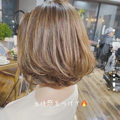 ボブ モテボブ 圧倒的透明感 透明感カラー ヘアスタイルや髪型の写真・画像
