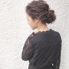 エレガント 上品 ロング パーティ ヘアスタイルや髪型の写真・画像