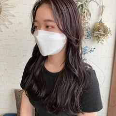 韓国ヘア レイヤーカット ロング ヨシンモリ ヘアスタイルや髪型の写真・画像