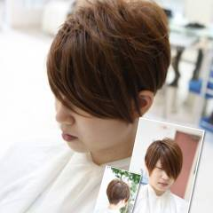 ナチュラル ショート 刈り上げ 坊主 ヘアスタイルや髪型の写真・画像