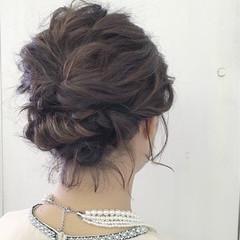 成人式 簡単ヘアアレンジ 結婚式 上品 ヘアスタイルや髪型の写真・画像