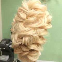 外国人風 ロング 大人かわいい ヘアアレンジ ヘアスタイルや髪型の写真・画像