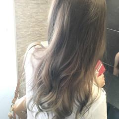 グラデーションカラー 大人かわいい 外国人風 イルミナカラー ヘアスタイルや髪型の写真・画像