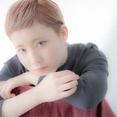 ボブ ショート 冬 前髪あり ヘアスタイルや髪型の写真・画像