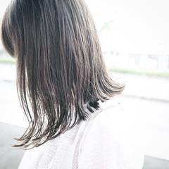寝癖 切りっぱなし ストリート ボブ ヘアスタイルや髪型の写真・画像