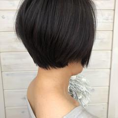 ショート 女子力 小顔 似合わせ ヘアスタイルや髪型の写真・画像