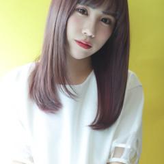 美髪 美髪矯正 清楚 ナチュラル ヘアスタイルや髪型の写真・画像