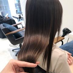 髪質改善トリートメント 美髪 最新トリートメント ナチュラル ヘアスタイルや髪型の写真・画像