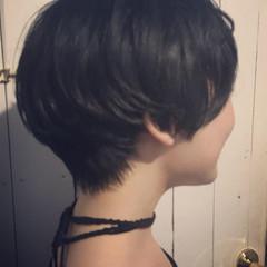 ナチュラル ボブ 抜け感 ショートボブ ヘアスタイルや髪型の写真・画像