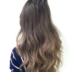 外国人風 ブラウン ハイライト ストリート ヘアスタイルや髪型の写真・画像
