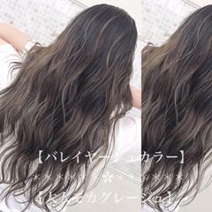 ナチュラル 外国人風カラー 透明感カラー イルミナカラー ヘアスタイルや髪型の写真・画像