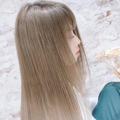 艶髪 エレガント ロング デート ヘアスタイルや髪型の写真・画像