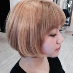 ピュア ボブ 外国人風 大人かわいい ヘアスタイルや髪型の写真・画像