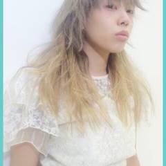 ウルフカット マッシュ セミロング ストリート ヘアスタイルや髪型の写真・画像