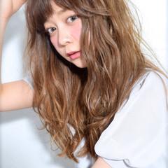 ハイトーン グラデーションカラー ストリート 外国人風 ヘアスタイルや髪型の写真・画像