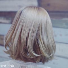 フェミニン 外国人風カラー ハイトーン ダブルカラー ヘアスタイルや髪型の写真・画像