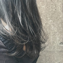 透明感 セミロング 外国人風 ナチュラル ヘアスタイルや髪型の写真・画像