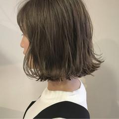 ロブ 秋 透明感 ボブ ヘアスタイルや髪型の写真・画像