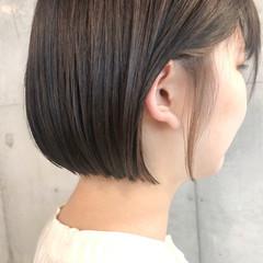 ナチュラル インナーカラー ボブ ヘアカラー ヘアスタイルや髪型の写真・画像