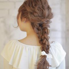 ロング パーティ 結婚式 ゆるふわ ヘアスタイルや髪型の写真・画像