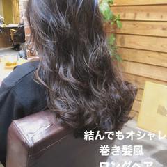 ゆるふわ パーマ アンニュイほつれヘア ゆるふわパーマ ヘアスタイルや髪型の写真・画像