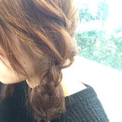 ヘアアレンジ セミロング 簡単ヘアアレンジ ショート ヘアスタイルや髪型の写真・画像
