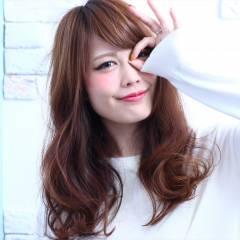 モテ髪 秋 ロング 大人かわいい ヘアスタイルや髪型の写真・画像