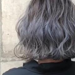 グラデーションカラー バレイヤージュ ストリート 外国人風カラー ヘアスタイルや髪型の写真・画像