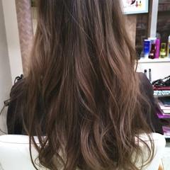 フェミニン ロング カラープレックス ヘアスタイルや髪型の写真・画像