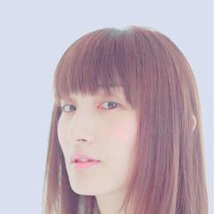 ストレート 透明感 外国人風 ナチュラル ヘアスタイルや髪型の写真・画像