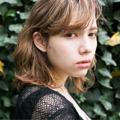 ハイライト 大人かわいい 外国人風 ブラウン ヘアスタイルや髪型の写真・画像