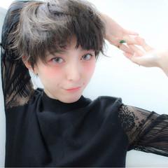 こなれ感 ナチュラル 小顔 ベリーショート ヘアスタイルや髪型の写真・画像