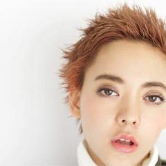 ショート 外国人風 ベリーショート ストリート ヘアスタイルや髪型の写真・画像