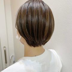 ナチュラル ベリーショート ショート ショートヘア ヘアスタイルや髪型の写真・画像