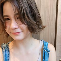 ボブ ナチュラル 女子力 ヘアアレンジ ヘアスタイルや髪型の写真・画像
