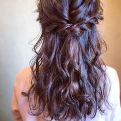 デート エレガント 簡単ヘアアレンジ 結婚式 ヘアスタイルや髪型の写真・画像