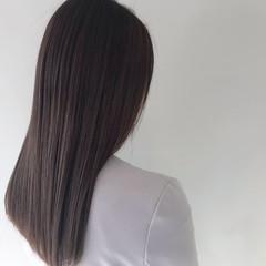 ヘアアレンジ ナチュラル ストレート デート ヘアスタイルや髪型の写真・画像