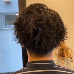 スパイラルパーマ 無造作パーマ メンズスタイル ストリート ヘアスタイルや髪型の写真・画像
