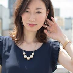 フェミニン 大人かわいい 外国人風 デート ヘアスタイルや髪型の写真・画像