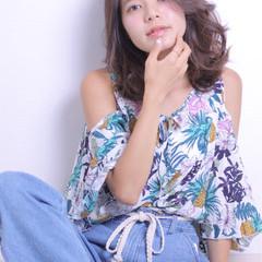 かわいい アンニュイ 色気 大人かわいい ヘアスタイルや髪型の写真・画像