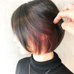 ミニボブ モード ショートボブ ショートヘア ヘアスタイルや髪型の写真・画像
