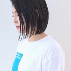 グラデーションカラー バレイヤージュ ハイライト ストリート ヘアスタイルや髪型の写真・画像