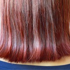 ミディアム 女子力 ナチュラル ピンク ヘアスタイルや髪型の写真・画像