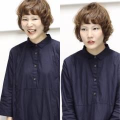 ゆるふわ ショート ガーリー 外国人風 ヘアスタイルや髪型の写真・画像