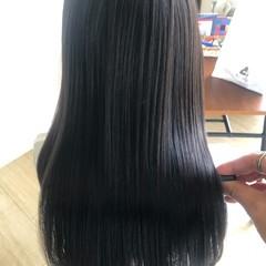 ロング 髪の病院 縮毛矯正 名古屋市守山区 ヘアスタイルや髪型の写真・画像