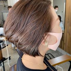 艶髪 モテ髪 ショートボブ ボブ ヘアスタイルや髪型の写真・画像
