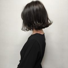 ボブ レイヤーボブ ナチュラル 外ハネボブ ヘアスタイルや髪型の写真・画像