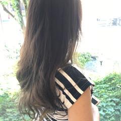 パーマ ナチュラル ロング 外国人風カラー ヘアスタイルや髪型の写真・画像